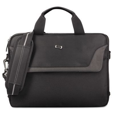 "Pro slim brief, 14.1"", 14 x 2 x 11, black, sold as 1 each"