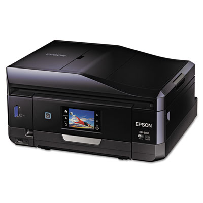 Expression premium xp-860 wireless small-in-one inkjet printer, copy/print/scan, sold as 1 each