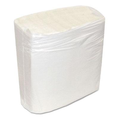 Decor dinner napkins, 1-ply, white, 8 1/2 x 8 3/8, 375/pk, 3000/carton, sold as 1 carton, 12 package per carton