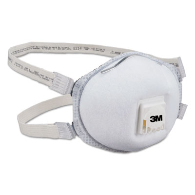 Particulate respirator 8214, n95, 10/box, sold as 10 each