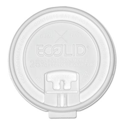 25% recy content dual-temp lk tab lid w/straw slot, 20oz insul, 50/pk, 12 pk/ct, sold as 1 carton, 600 each per carton