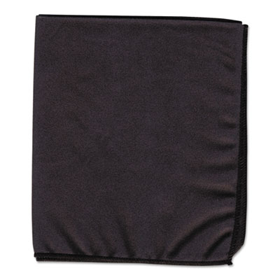 Dry erase cloth, black, 12 x 14, sold as 1 each