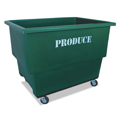 Produce cart, 32 x 46 x 37, 600 lbs. capacity, green, sold as 1 each