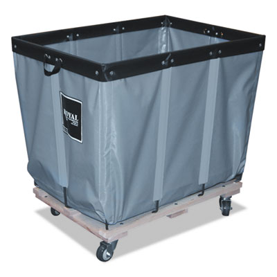 6 bushel permanent liner truck, 20 x 30 x 27, 600 lbs. capacity, gray, sold as 1 each