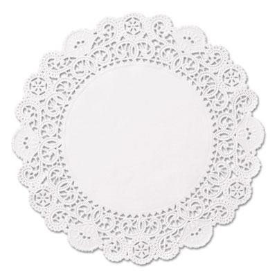 "Brooklace lace doilies, round, 5"", white, 2000/carton, sold as 1 carton, 2000 each per carton"