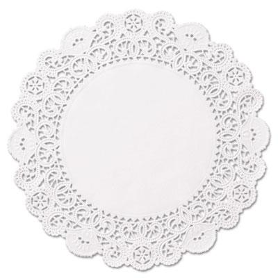 "Brooklace lace doilies, round, 6"", white, 2000/carton, sold as 1 carton, 2000 each per carton"