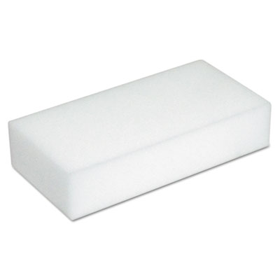 Disposable eraser pads, white, foam, 2 2/5 x 4 3/5, 100/carton, sold as 1 carton, 100 each per carton