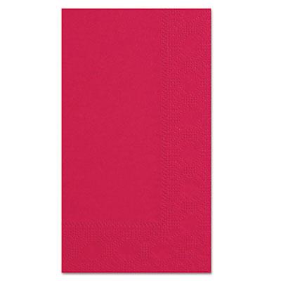 Dinner napkins, 2-ply, 15 x 17, red, 1000/carton, sold as 1 carton, 1000 each per carton