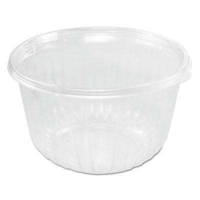 Presentabowls clear bowls, plastic, 64 oz, 63/bag, 252/carton, sold as 1 carton, 252 each per carton