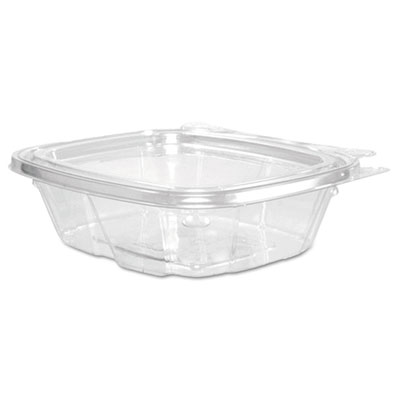 Clearpac container lid combo-packs, 4.9 x 1.4 x 5.5, 8 oz, clear, 200/carton, sold as 1 carton, 200 each per carton