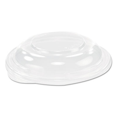 "Presentabowls clear flat lids, 5.4"" diameter, 504/carton, sold as 1 carton, 504 each per carton"
