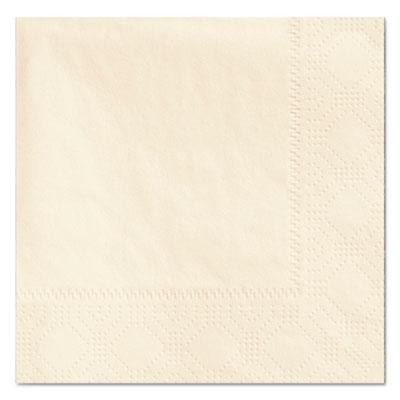 Beverage napkins, 2-ply, 9 1/2 x 9 1/2, ecru, 1000/carton, sold as 1 carton, 1000 each per carton