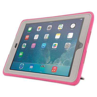 Survivor slim case, for ipad air, gray/pink, sold as 1 each