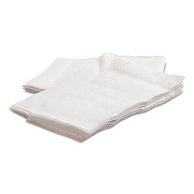 Mor-soft lowfold paper napkins, white, 3 1/2 x 5, 400/pack, 20/carton, sold as 1 carton, 20 each per carton