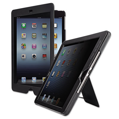 Privacy screen slim case for ipad air, black, sold as 1 each