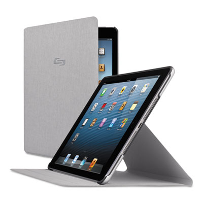 Millennia slim case for ipad mini, gray, sold as 1 each