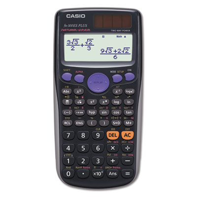 Fx-300esplus scientific calculator, 10-digit, natural textbook display, lcd, sold as 1 each