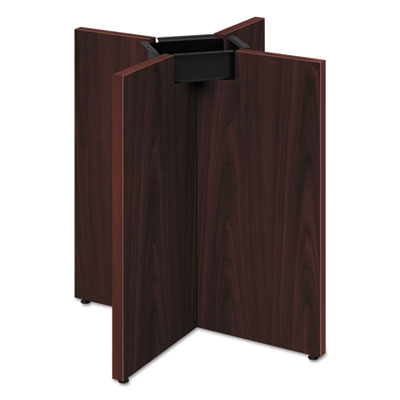 Preside conference table x-base, 28 x 28, mahogany, sold as 1 each