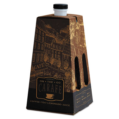 On-the-go carafe, 96 oz, mutlicolored, 16/carton, sold as 1 carton, 16 each per carton