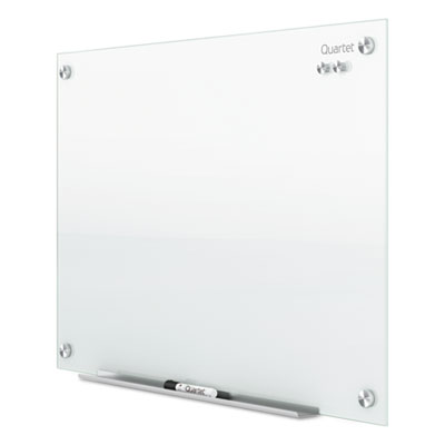 Infinity magnetic glass marker board, 24 x18, white, sold as 1 each