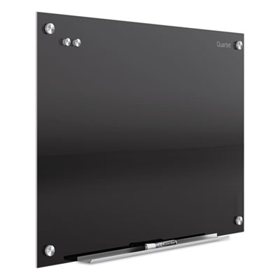 Infinity magnetic glass marker board, 36 x 24, black, sold as 1 each