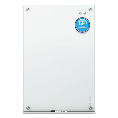 Infinity magnetic glass marker board, 96 x 48, white, sold as 1 each