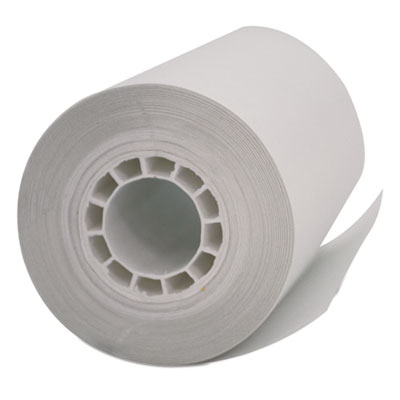"Single ply thermal cash register/pos rolls, 2 1/4"" x 55 ft., white, 50/carton, sold as 1 carton, 10 package per carton"