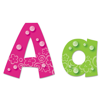 Ready letters playful bubbles combo pack, assorted colors, 216 per pack, sold as 1 kit