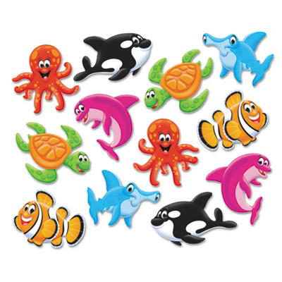 Classic accents variety pack, sea buddies, 6 x 7.88, sold as 1 package