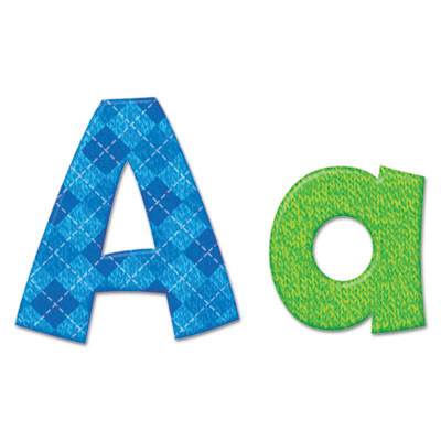 """Ready letters playful combo pack, assorted colors, 4"""", 216 per pack, sold as 1 each"""