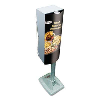 Mega cartridge napkin system dispenser, 8 3/4 x 6 3/8 x 23 1/4, gray, sold as 1 each