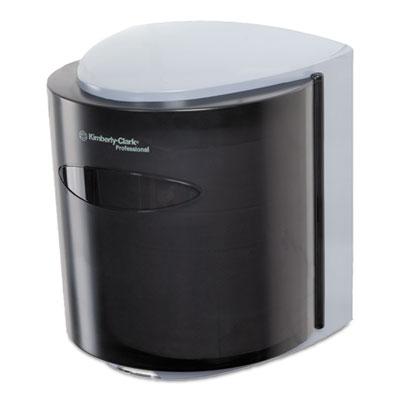 Roll control c-pull dispenser, 10 3/10w x 9 3/10d x 11 9/10h, smoke/gray, sold as 1 each