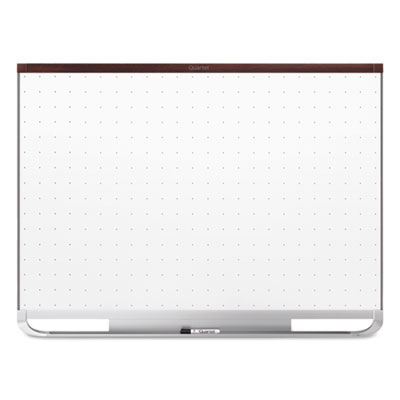 Prestige 2 connects magnetic total erase whiteboard, 96 x 48, mahogany frame, sold as 1 each
