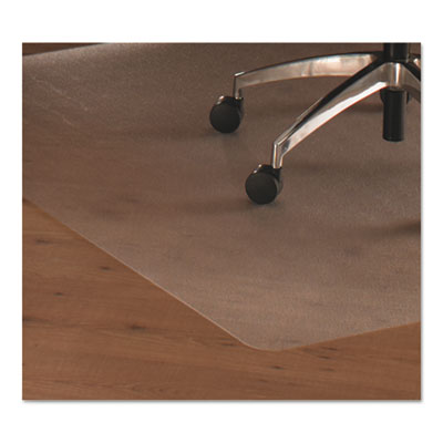 Cleartex ultimat polycarbonate chair mat for hard floors, 49 x 39, clear, sold as 1 each