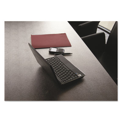 Desktex polycarbonate anti-slip desk mat, 59 x 29, clear, sold as 1 each
