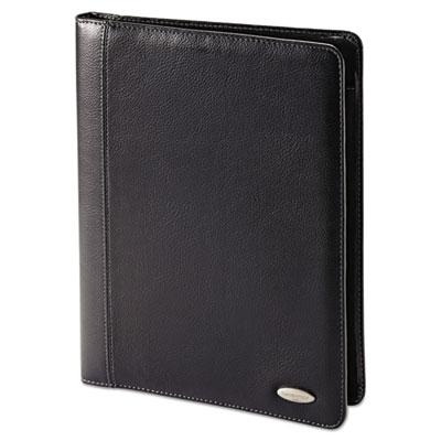 Bi-fold padfolio, 8 1/2 x 11, black, sold as 1 each