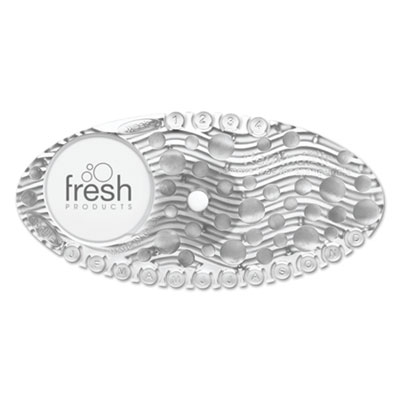 Curve air freshener, mango, clear, 10/box, sold as 1 box, 10 each per box