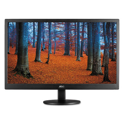 Tft active matrix led monitor, 24, sold as 1 each