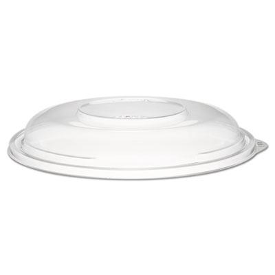 "Presentabowls clear dome lids, plastic, 7 3/10"" dia, sold as 1 carton, 4 each per carton"