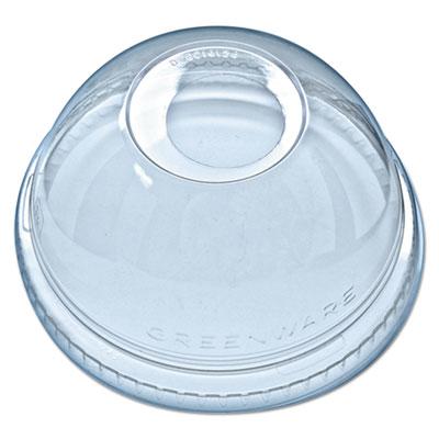 Kal-clear/nexclear drink cup lids, f/5-24 oz cups, clear, 1000/carton, sold as 1 carton, 1000 each per carton