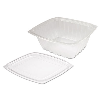 Clearpac clear container lid combo-packs, 6 1/2 x 7 1/2 x 2.7, 63/pack, 4 pk/ctn, sold as 1 carton, 252 each per carton