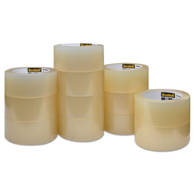 """Greener commercial grade packaging tape, 1.88"""" x 54.6yds, 3"""" core, sold as 1 carton, 12 roll per carton"""
