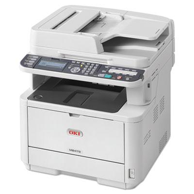 Mb472w monochrome wireless multifunction laser printer, copy/fax/print/scan, sold as 1 each