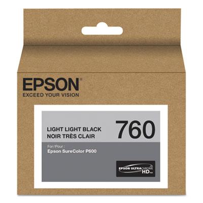 T760920 (760) ultrachrome hd ink, light light black, sold as 1 each