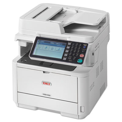 Mb492 monochrome wireless multifunction laser printer,  copy/fax/print/scan, sold as 1 each