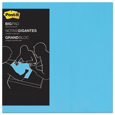 Big pad, 22 x 22, blue, 30 sheets/pad, sold as 1 pad