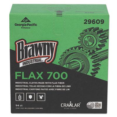 Flax 700 medium duty cloths, 9 x 16 1/2, white, 94/box, 10 box/carton, sold as 1 carton, 10 each per carton