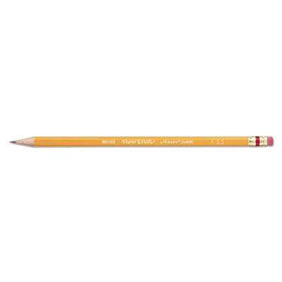 Mirado woodcase pencil, f #2.5, yellow, dozen, sold as 1 dozen