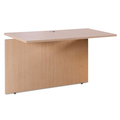 Sedina series reversible return/bridge, 47 1/4w x 23 5/8d x 29 1/2h, maple, sold as 1 each