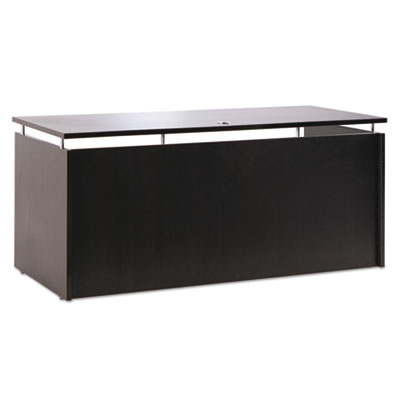Sedina series credenza shell, 66w x 23 5/8d x 29 1/2h, espresso, sold as 1 each